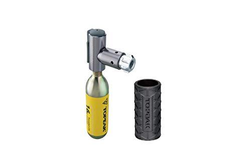 Topeak Unisex- Erwachsene Airbooster CO2-Pumpe, Silber, 22.5g