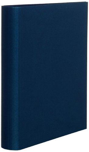 Rössler Papier 1316452900, S.O.H.O. Ringbuch 2,5 cm schmal, 2-Ring-Mechanik, navy
