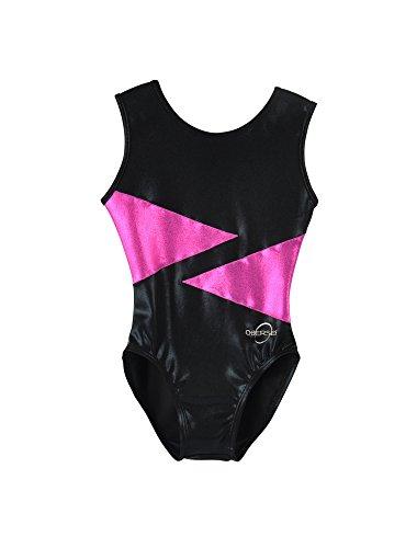 obersee-girls-o3gl003-diamond-gymnastics-maillot-negro-rosa-mediano