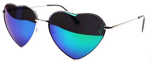 SCLM Gafas de Sol en Forma de Corazón para Mujer