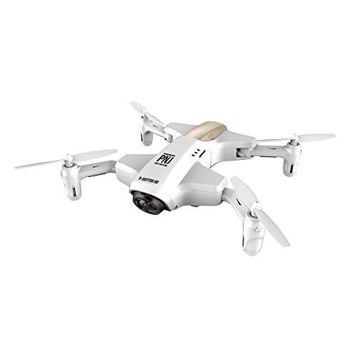 Pnj Drone caméra de Poche Pliable Pilotage Via Smartphone Argent