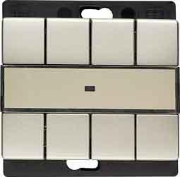 Berker Funk-Wandsender 4fach 27249004 flach ARSYS;FUNKBUS Bussystem-Hand-/Wandsender 4011334256366