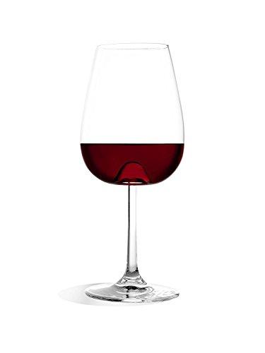 Stölzle Lausitz Vulcano Universal Weinglas 485ml, 6er Set Weinglas mit Aromakegel, spülmaschinenfest, bleifreies Kristallglas, hochwertige Qualität