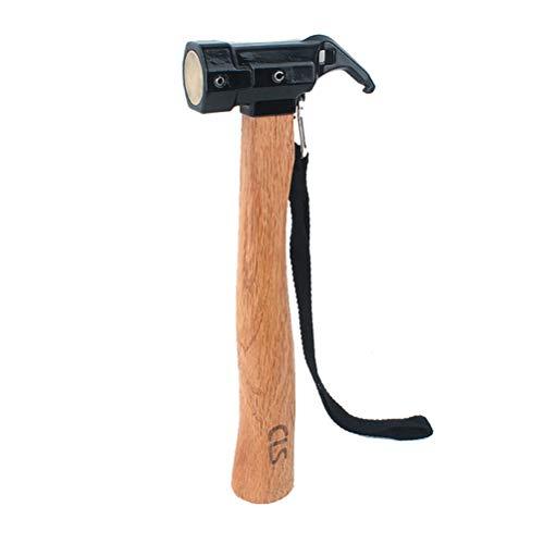 VORCOOL Outdoor Hammer Campinghammer Zelthammer Klauenh… | 00799768085489