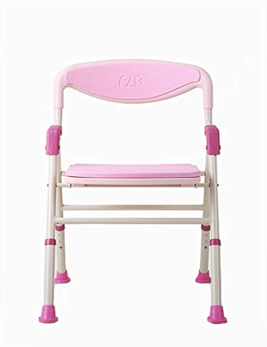 Kugga Deluxe Badesitz mit Back & Arms, Verstellbare & Faltbare Bad Hocker Stuhl mit Breitem Sitz -
