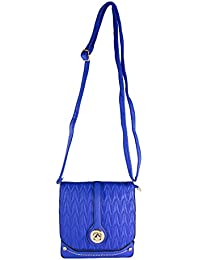 High Valley Fashion Blue Béziers Sling Bag (N1235) (Buy One Get One Free)