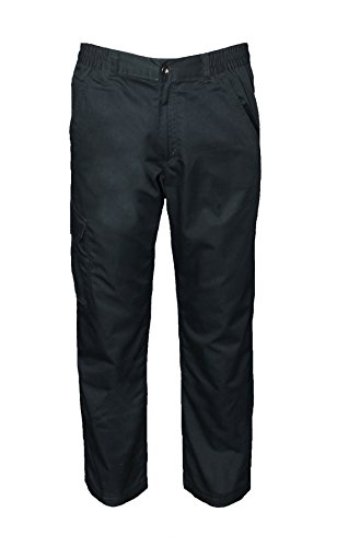 Preisvergleich Produktbild Unbekannt Herren Thermo-Arbeitshose Arbeitskleidung Schwarz 48