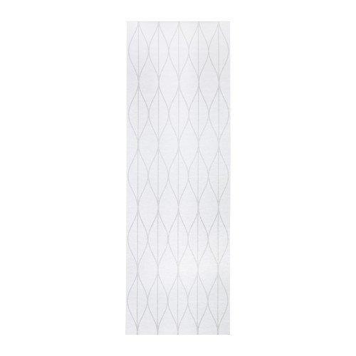 IKEA GRYNET Schiebegardine in weiß; (60x300cm)