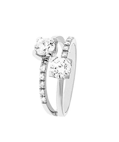 miglior sito web 1b55a 99716 Stroili Gioielli – Anello in oro bianco e zirconi