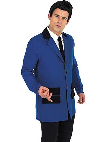 Medium Fun Shack Adult Blue Teddy Boy Costume