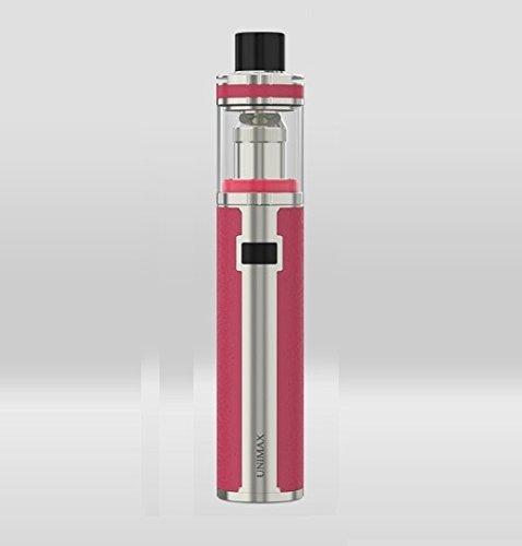 Joyetech UNIMAX 25 Kit - ohne Tabak & Nikotin - kein Verkauf unter 18 Jahren - 3000 mAh - Silberfarben/Rot - 5 ml