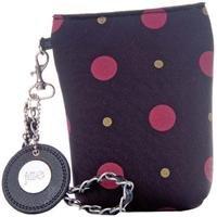Jill-e Kamera Damen-Kameratasche (Pouch), schwarz/rot -