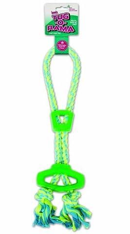 Booda 30789Tug-a-rama Slide et passant en corde Jouet pour chien,