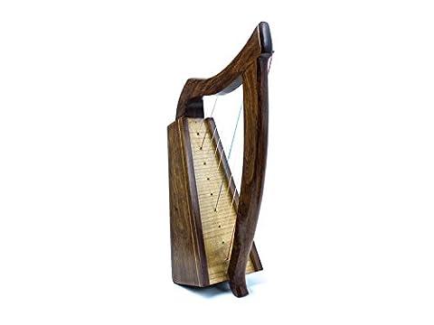 Marke Neu Handmade 9String keltische Harfe aus Holz mit einem Palisander Finish