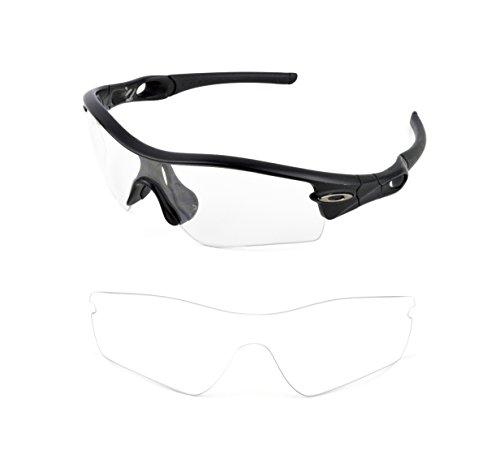 solar lens Herren Sonnenbrille transparent farblos