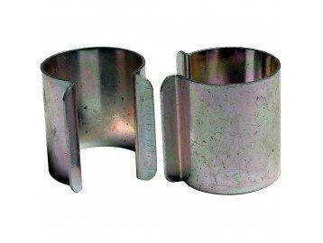 20Stück Metallclips für Gewächshaus, zinkbeschichtet, 25mmx30mm