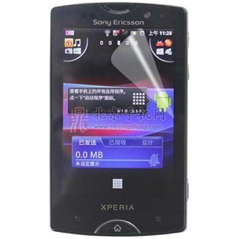 Sony Ericsson SK17i/Xperia Mini Pro Película Protección Plástico antirreflectante