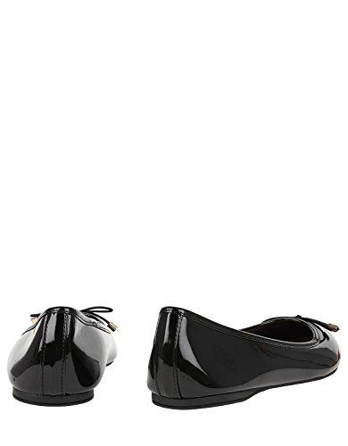 Accessorize Coraline Basic Patent Ballerina Flats Noir