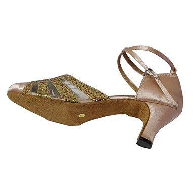 XIAMUO Kundenspezifische die Ferse frauen Closed-toe Tanz im Ballsaal Schuhe Frauen Schuhe Beige