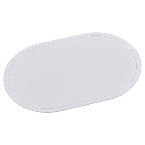KESPER Sets de Table en Blanc Plastique, Multicolor