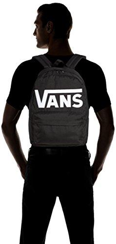 Vans Old Skool Ii Backpack Zaino Casual, 42 Cm, 22 Liters, Nero (Black/White) - 5