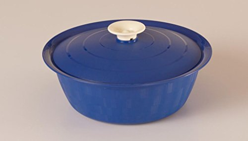 Cutting Edge Daffodil Classic Serving Dish, Set of 1, 1.8 Litre, Electric Blue  available at amazon for Rs.200