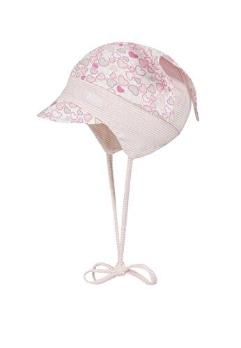 Döll Mädchen, Mütze, Kopftuch mit Schirm Jersey, Rosa (pink Lady 2720), 41
