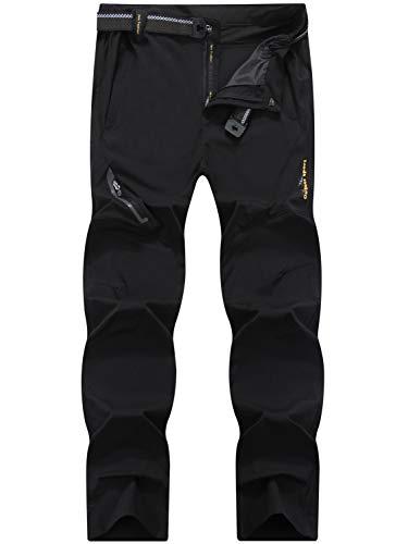LY4U Hombres Aire Libre Secado rápido Pantalones