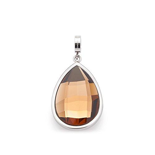 Leonardo Jewels Damen Anhänger Darlin\'s Saskia Edelstahl Glas braun  016400