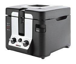 Lacor 69199 - Freidora eléctrica domestica, 2800 W, negro