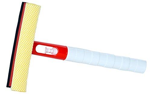Preisvergleich Produktbild Scheibenabzieher mit integrierter Schrühflasche und Schwamm Autoscheiben Abzieher Schwamm Sprühflasche Scheibenreiniger Autoscheibenreiniger
