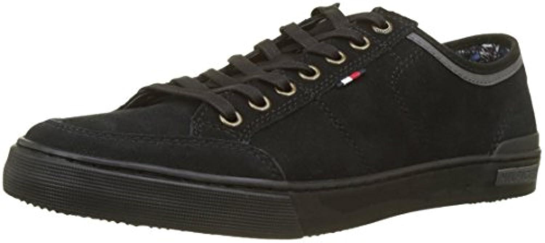 Tommy Hilfiger Core Suede Lace Up scarpe da ginnastica, Scarpe da Ginnastica Basse Uomo | Grande Varietà  | Scolaro/Ragazze Scarpa