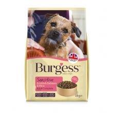 Burgess sensibile cane scozzese salmone & riso 2kg