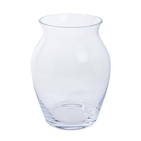 Dartington Crystal Flower Garden Blossom Vase, Clear