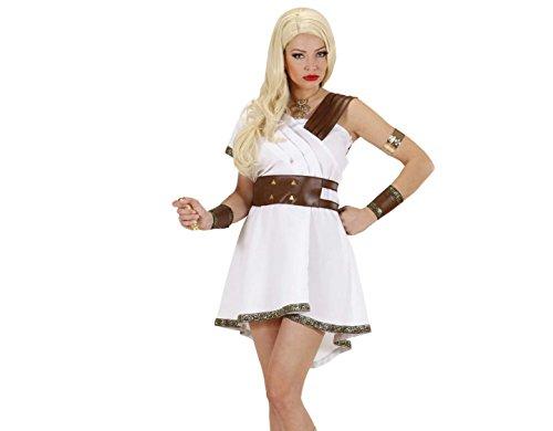 Widmann 8977G - Erwachsenenkostüm Olympia Kriegerin - Kleid, Gürtel und Armbänder, Größe XL, (Ideen Kostüm Kriegerin)