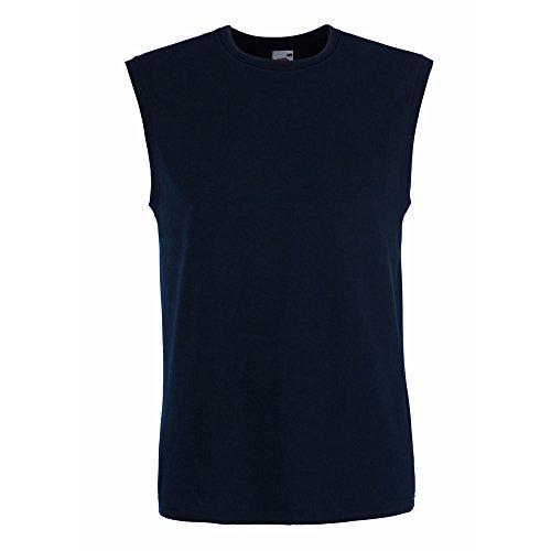 Fruit of the Loom Herren Tank Top viele Farben und Größen T-Shirt Muskelshirt Deep Navy