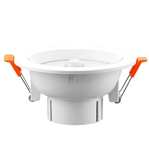 POWER UK Redondo LED Sensor de Movimiento Detector de Cuerpo Techo Panel...