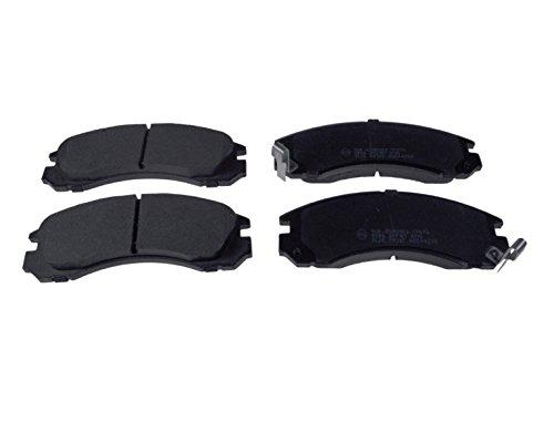 Preisvergleich Produktbild Blue Print ADC44250 Bremsbelagsatz (vorne,  4 Bremsbeläge)