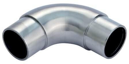 Rundbogen 90° V2A 42,4x2,0 mm geschliffen