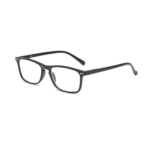 Yefree Lesebrille Federscharnier Männer und Frauen Retro Lesen Brille +1.0 bis 4.0