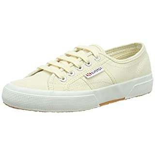 Superga 2750-cotu Classic, Unisex Adult's Fashion Low-Top Trainers, Ivory (Ivory Sk13), 11 UK (46 EU)