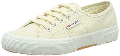 Superga 2750 Cotu Classic, Unisex-Erwachsene Sneaker, Gelb (Ivory SK13), 47 EU (12 UK) -