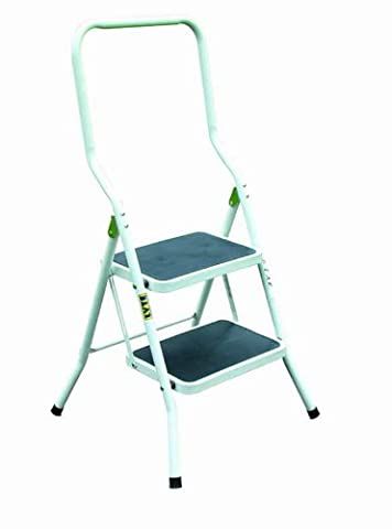 Lyte 2 Tread Step Stool with Extended Handrail