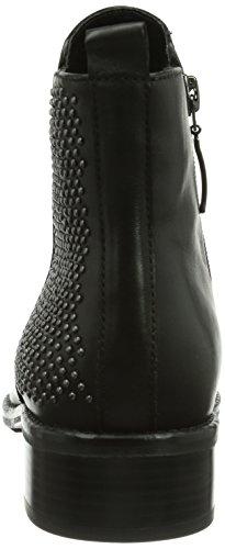 Gerry Weber Diane 05, Bottes Chelsea courtes, non doublées femme Noir (schwarz 100)