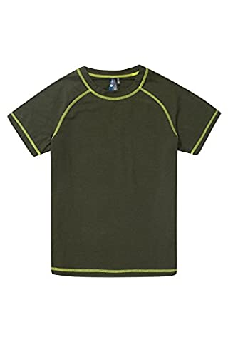 Zakti T-Shirt Game Raiser Enfants Kaki 7-8 ANS