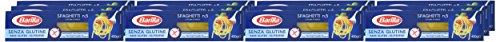 Barilla Pasta Spaghetti n. 5 glutenfrei aus Reis und Mais - 12er Pack (12x400g)