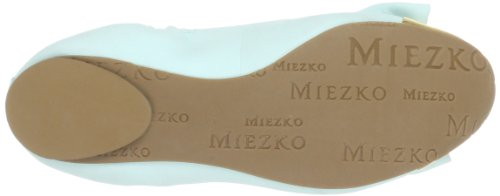 Miezko Amelie M2602 Donne Ballerine Verde (menta / Ouro)