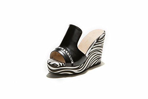 ZYUSHIZ Cool High-Heel épais chaussons aux Philippines avec Mme Sandal Slippers 41