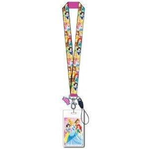 Lanyard - Disney - w/Soft Touch Dangle Princess 86084