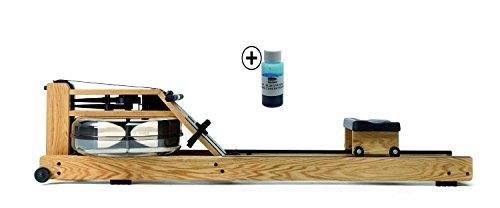 Water Rower Rudergerät Eiche S4 inkl. Blaue Wasserfarbe,230s4